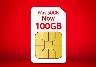 100GB SIM card for £30 Bundle