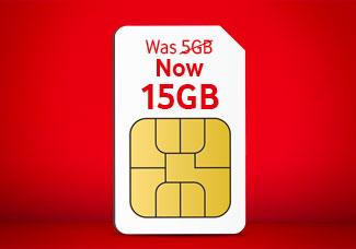 15GB SIM card for £10 Bundle