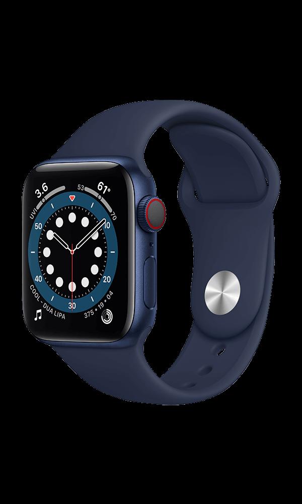 Apple Watch Series 6 (GPS+4G) Cellular 40mm Aluminium