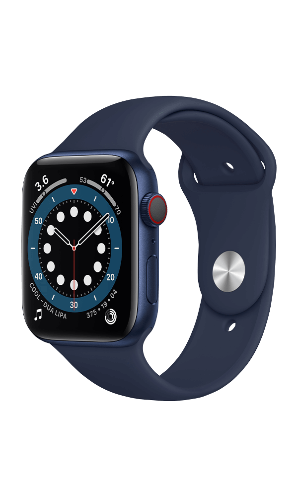 Apple Watch Series 6 (GPS+4G) Cellular 44mm Aluminium