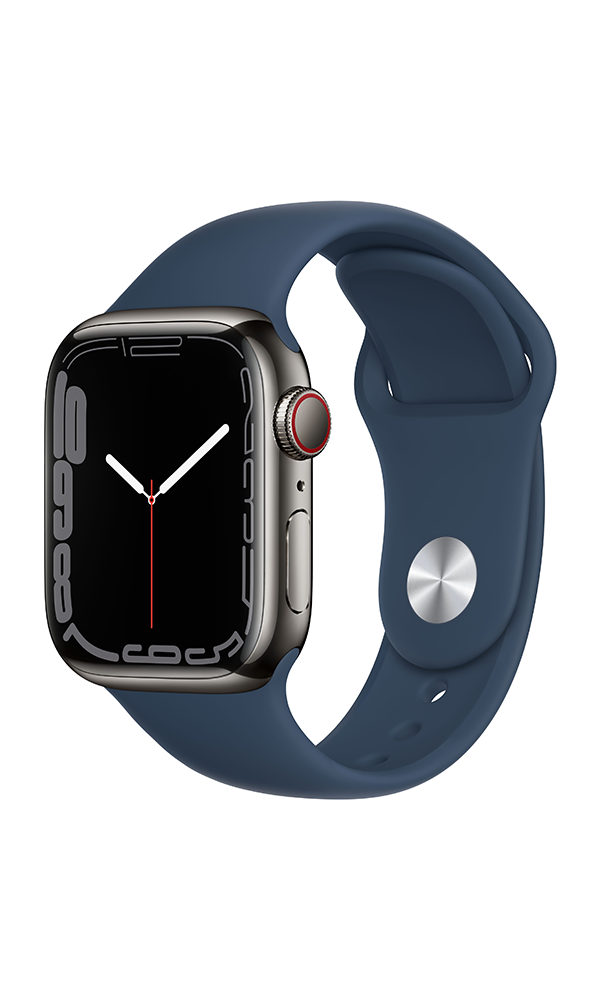 Apple Watch Series 7 (GPS+4G) Cellular 41mm Stainless Steel