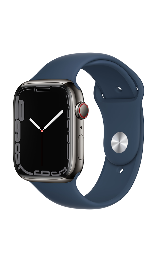 Apple Watch Series 7 (GPS+4G) Cellular 45mm Stainless Steel