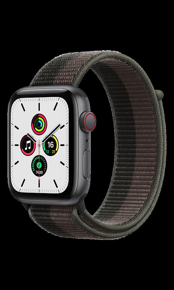 Apple Watch SE (GPS+4G) Cellular 44mm Aluminium