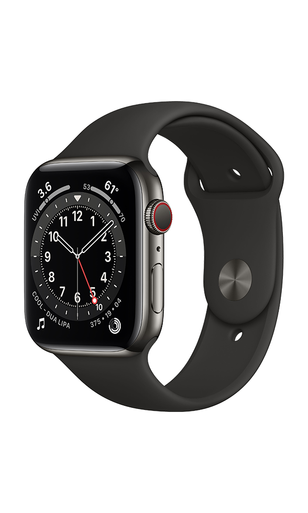 Apple Watch Series 6 (GPS+4G) Cellular 44mm Stainless Steel