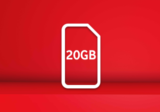 20GB SIM card for £30 Bundle
