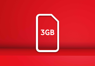 3GB SIM card for £10 Bundle