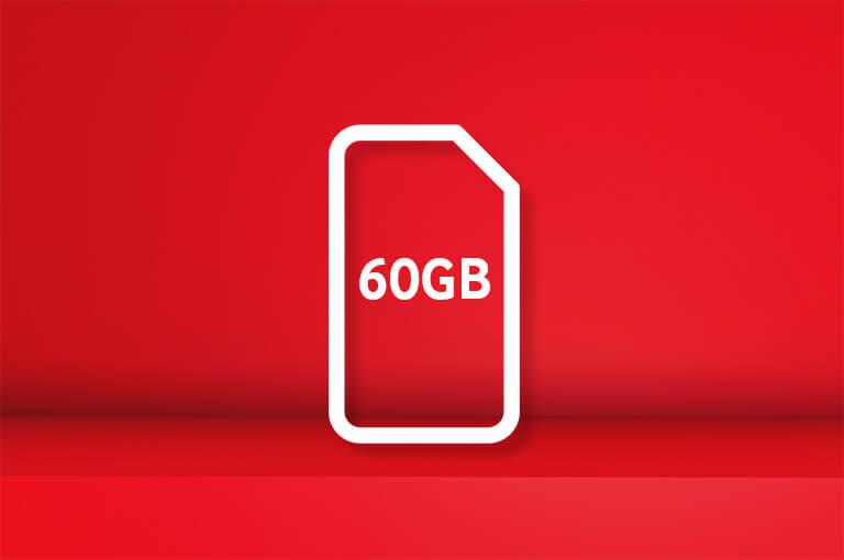 60GB SIM card for £30 bundle