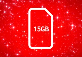 Was 3GB Now 15GB SIM card for £10 Bundle
