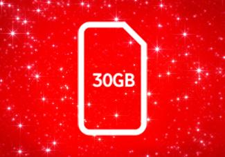 Was 6GB Now 30GB SIM card for £15 Bundle