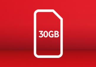 30GB SIM card