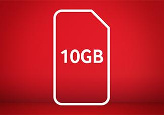 10GB SIM card for £15 Bundle