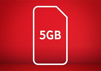 5GB SIM card for £10 Bundle