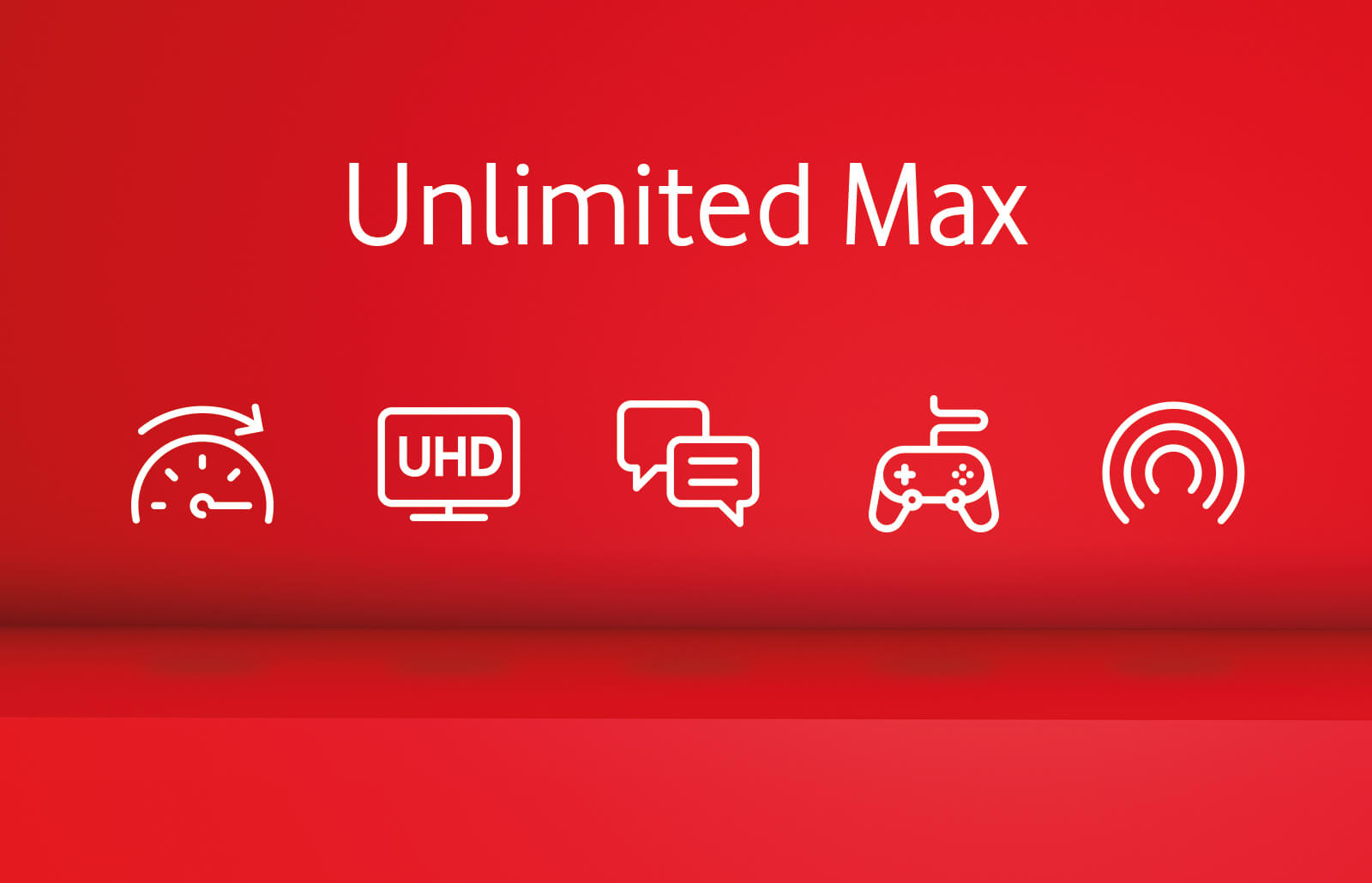 Unlimited plan icons