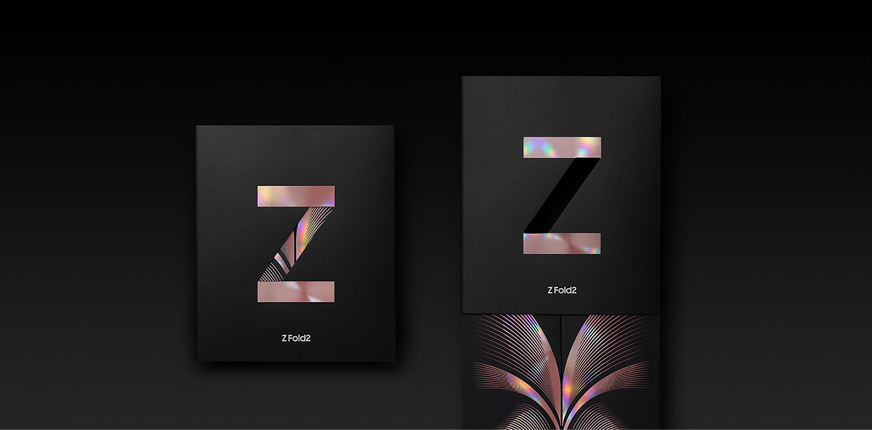 Galaxy Z Fold2 5G box