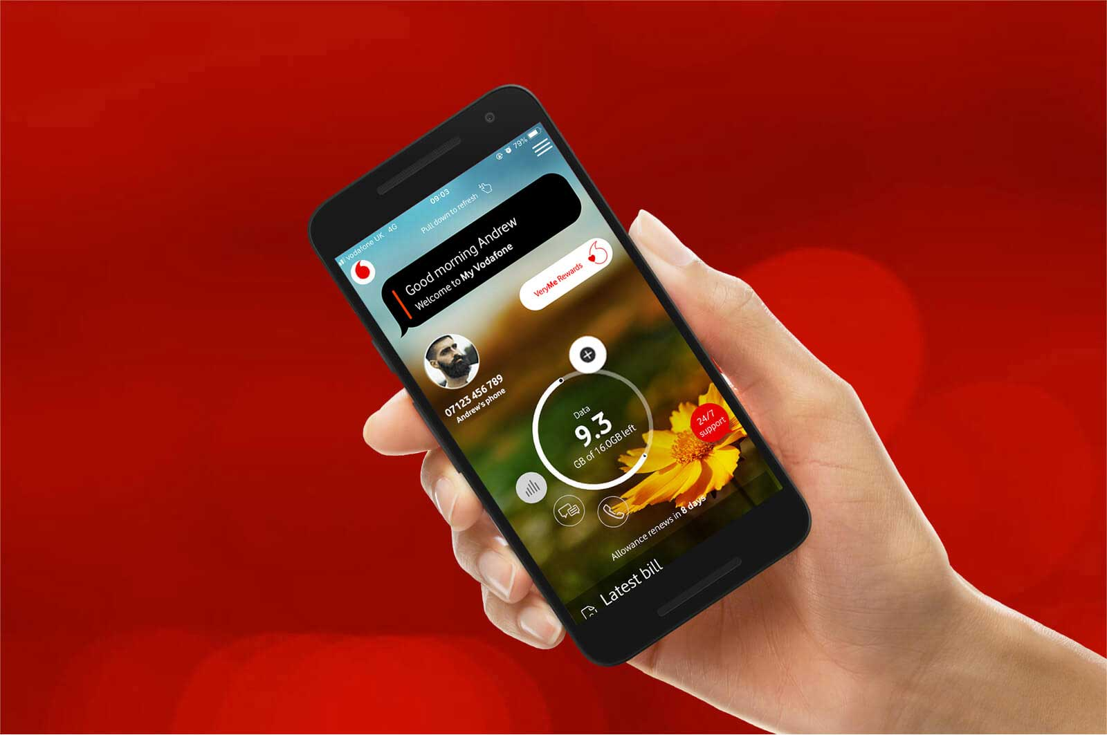 Getting started with Vodafone mobile