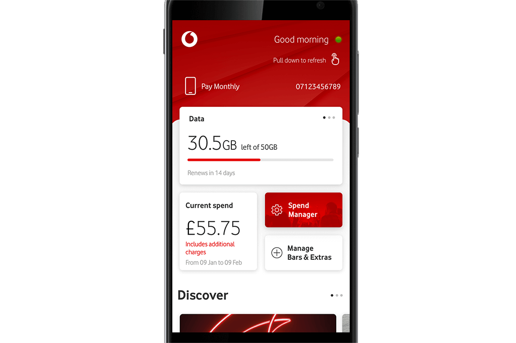 Vodafone app range | Make life easier