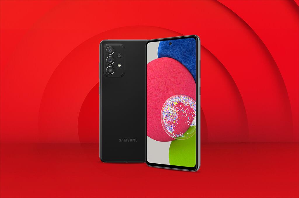 Galaxy A52s 5G camera