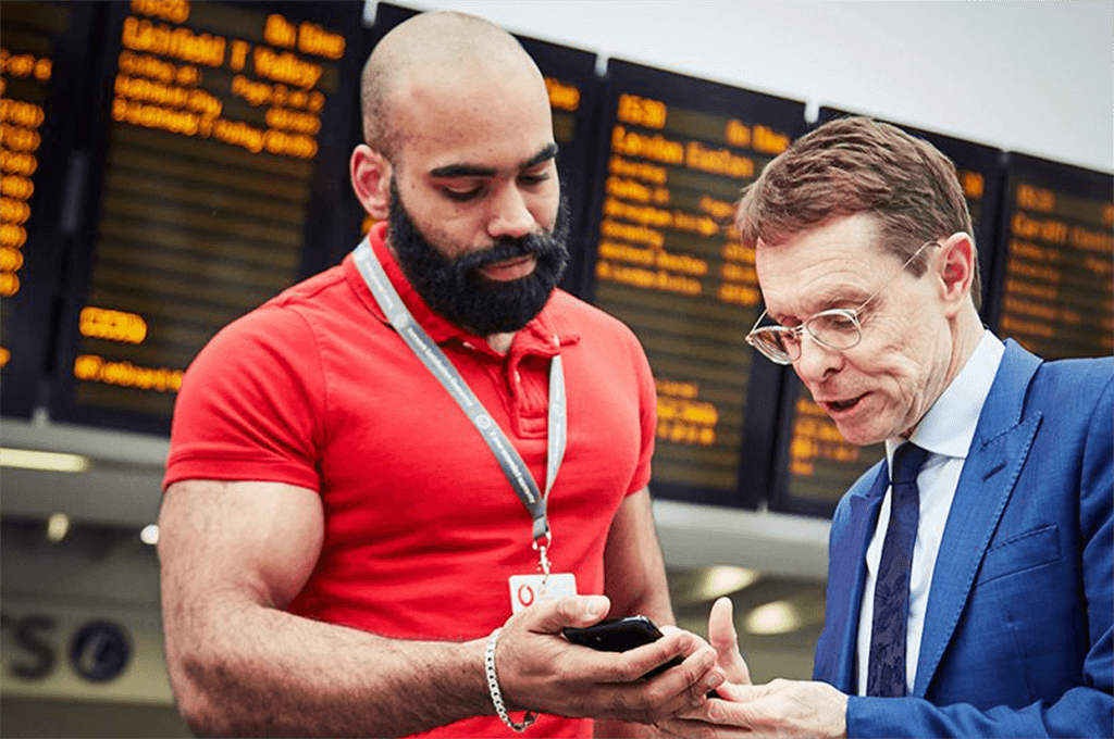 The UK's first 5G connected train station