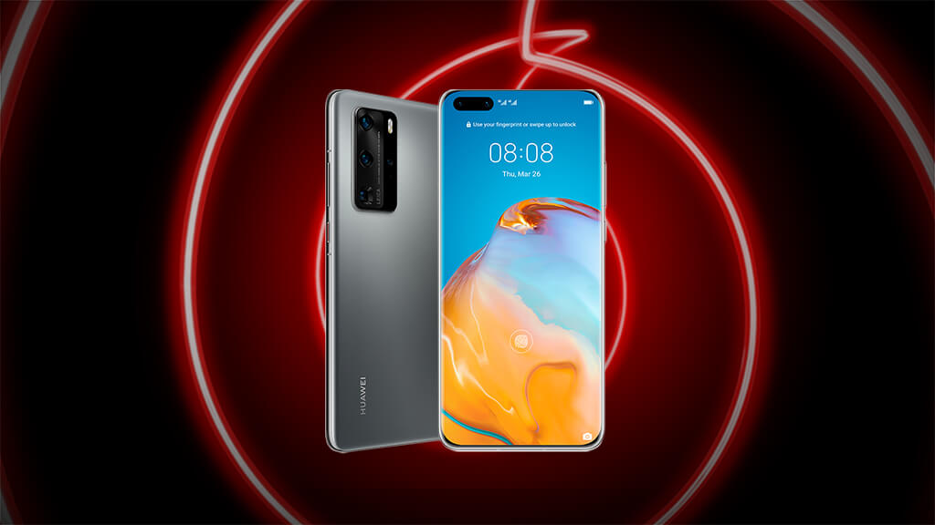 Claim your free gift bundle when you pre-order the Huawei P40 Pro 5G