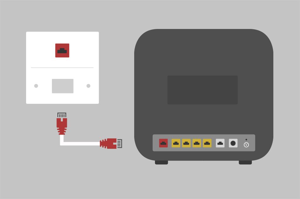 Broadband help - Set up router step 2