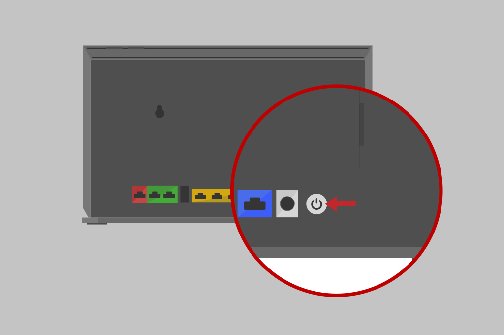 Broadband help - Set up router step 3