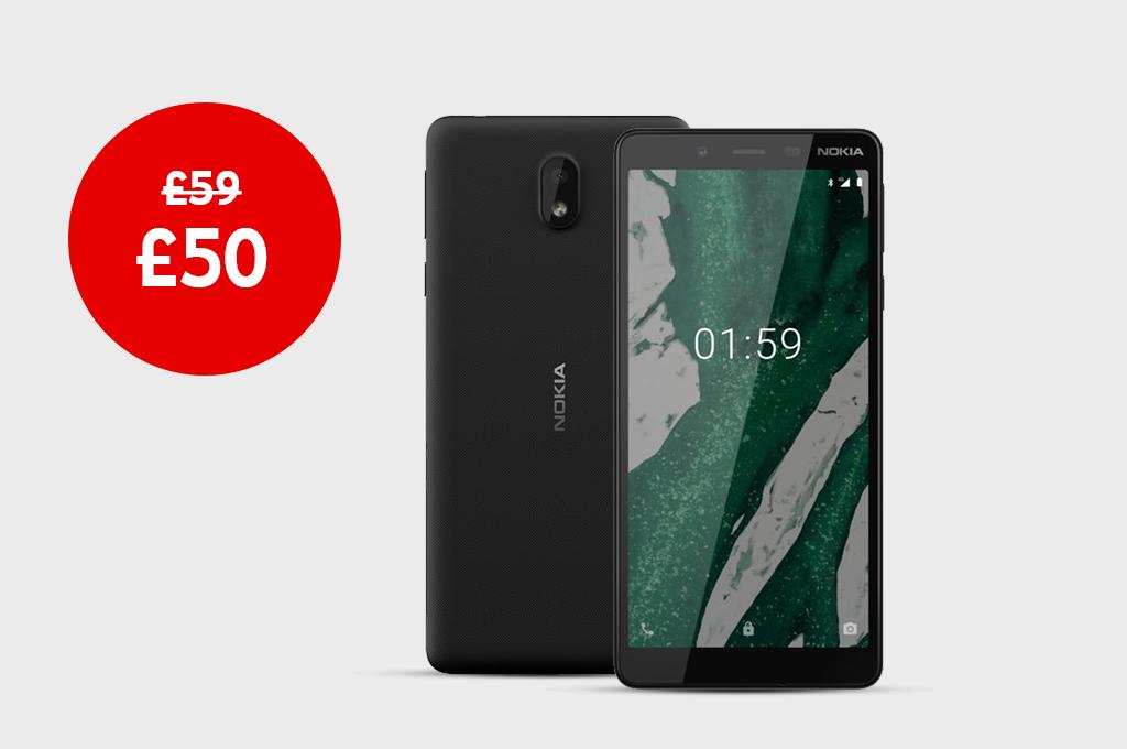 Nokia 1 Plus for £50