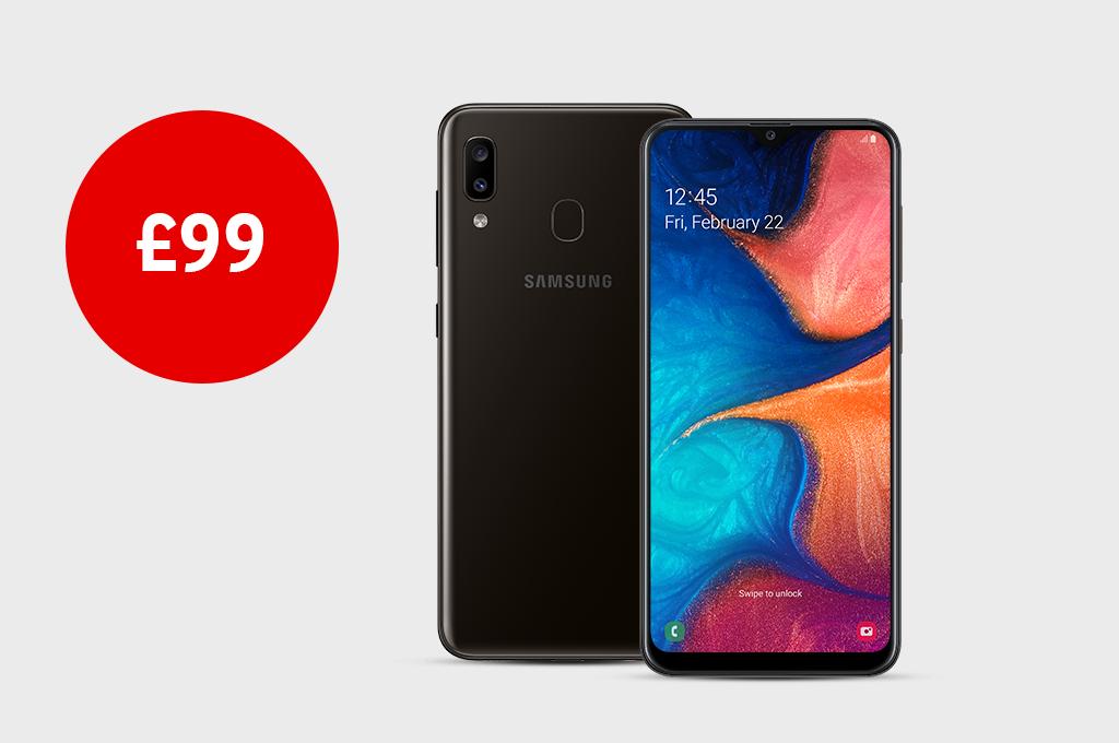 Samsung Galaxy A20e for £99