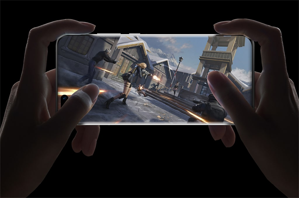 Gaming on the Huawei P40 Pro 5G