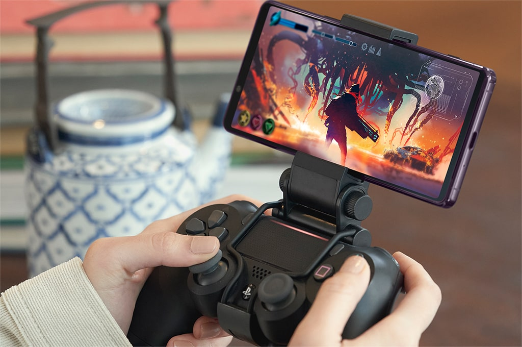 Gaming on the Sony Xperia 1 II