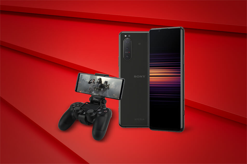 Gaming on the Sony Xperia 5 II 5G
