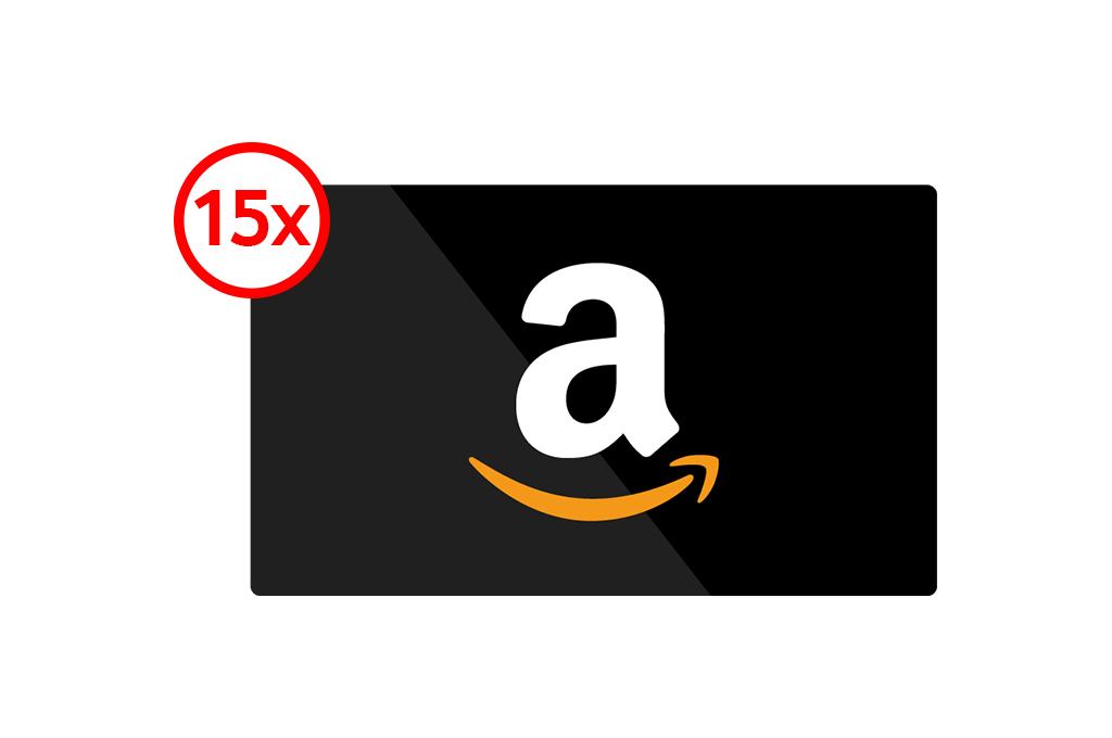 15x £100 Amazon Gift Card