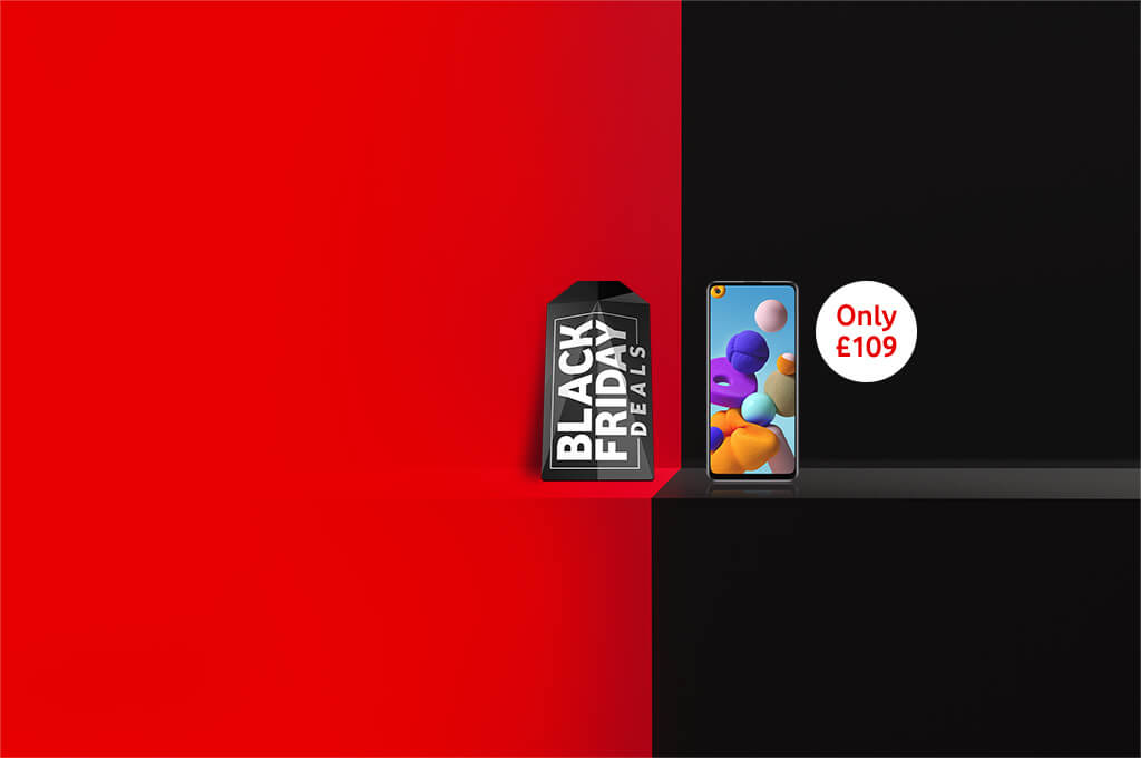 Black Friday Deals, Samsung Galaxy A21s Only £109