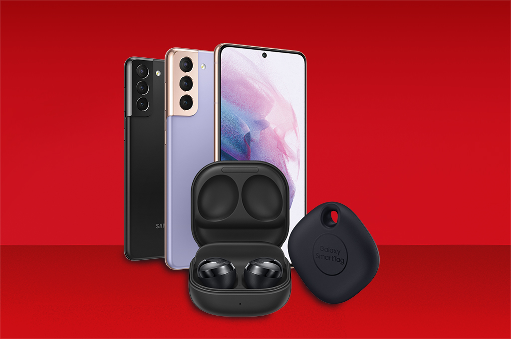Claim Galaxy Buds Pro and a SmartTag for free