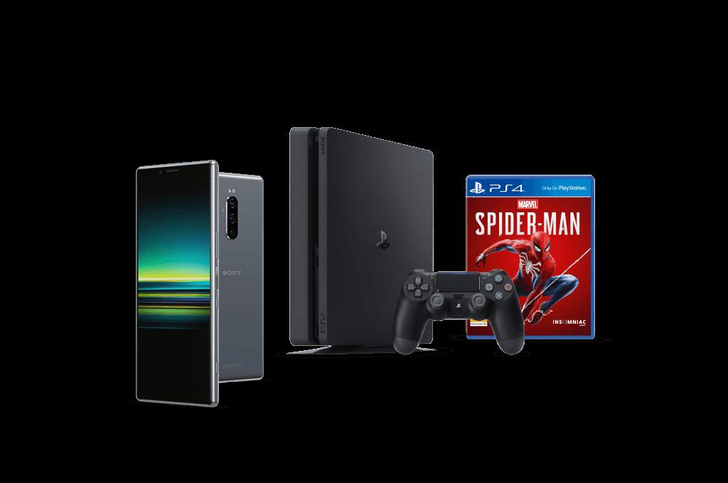 Sony Xperia 1 plus PlayStation 4