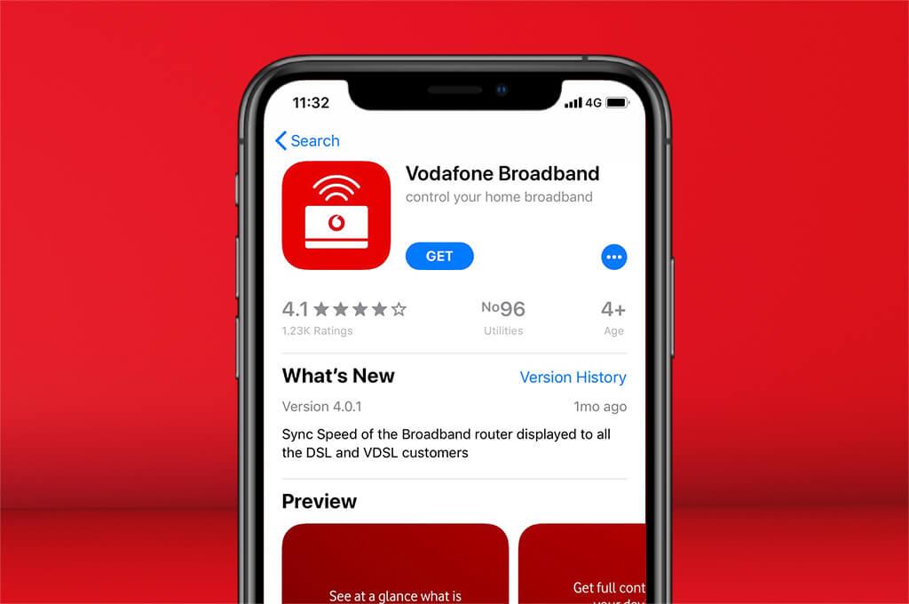 Download the Broadband app