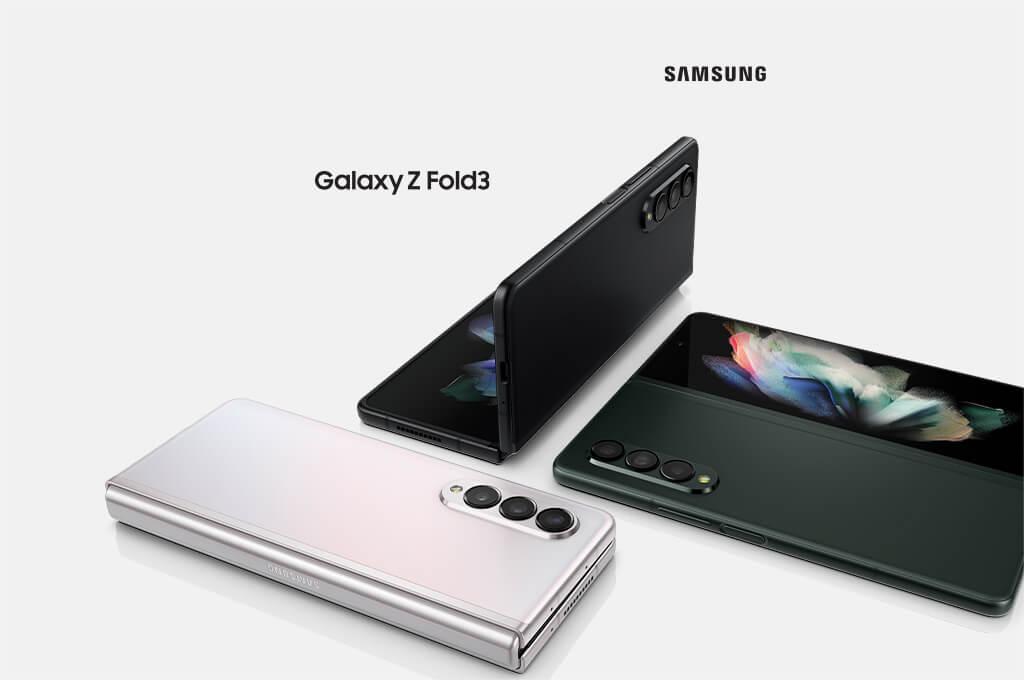 Galaxy Z Fold3 camera