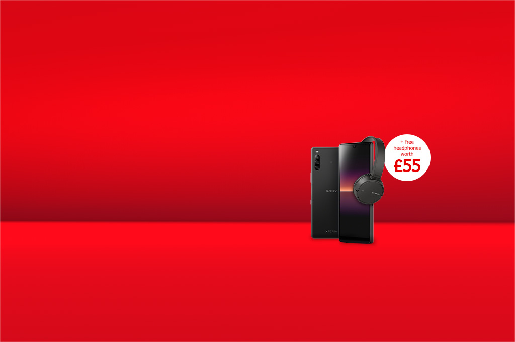 Sony Xperia L4 + free WH-CH500 headphones worth £55