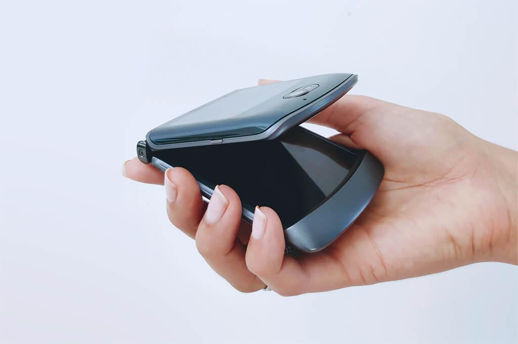 Retro motorola phone