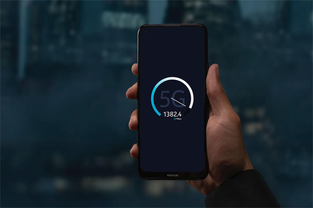 5G on Nokia phones