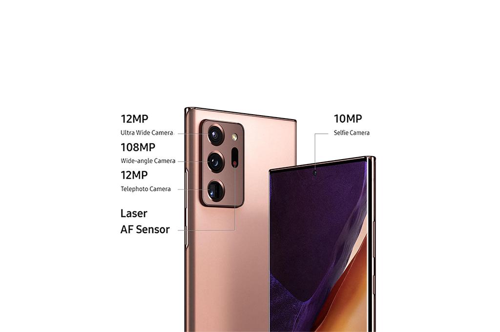 Samsung Galaxy Note20 Ultra 5G camera