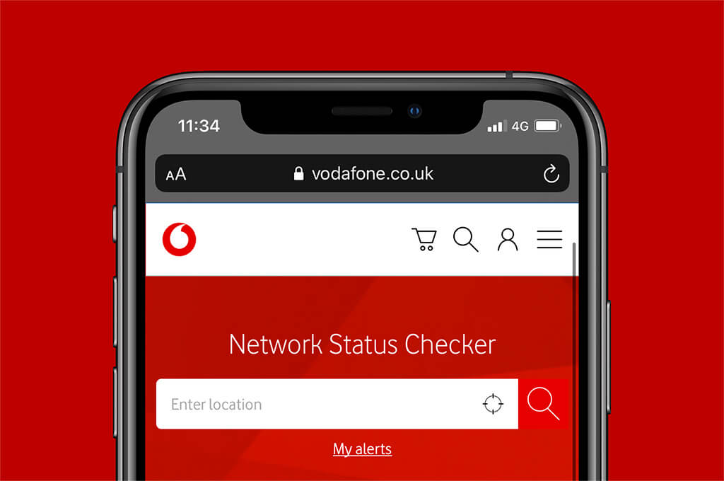 Vodafone Network Status Checker