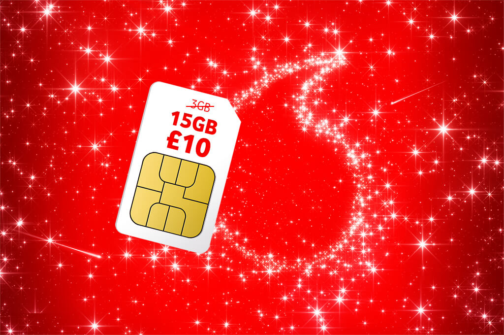 Was 3GB Now 15GB for £10