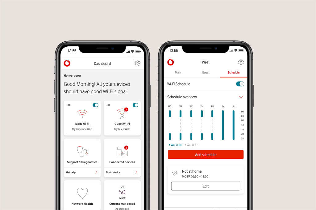 Vodafone Broadband app