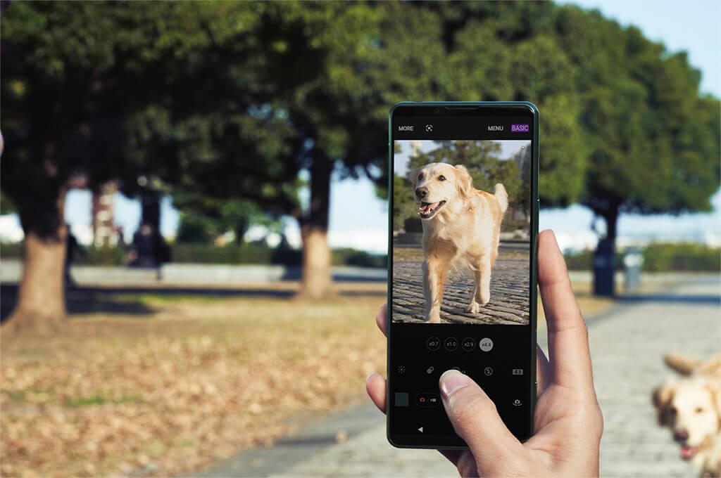 Sony Xperia 5 III 5G camera