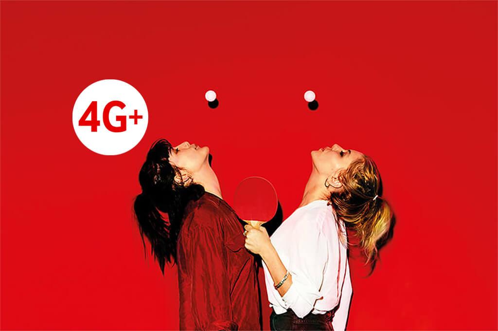 Doubling 4G plus