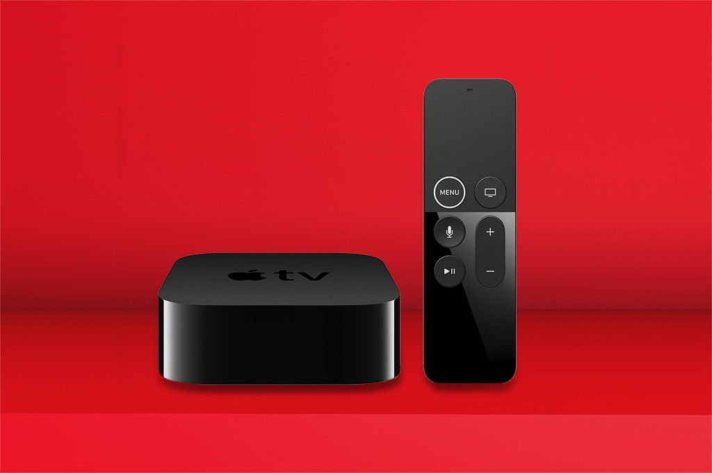 Apple TV 4K on us