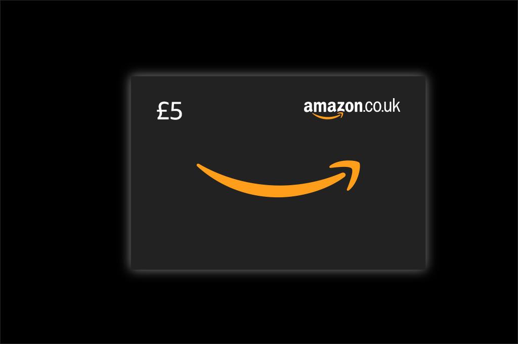 £5 Amazon voucher