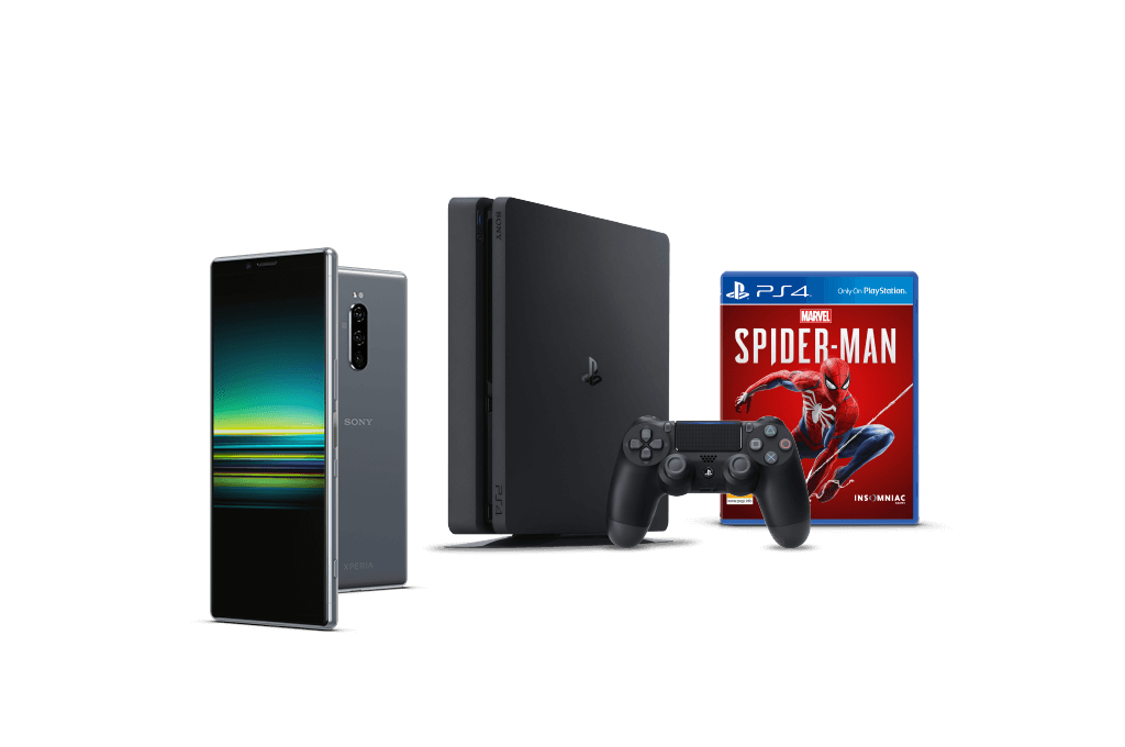 Sony Xperia 1 with PlayStation 4 bundle