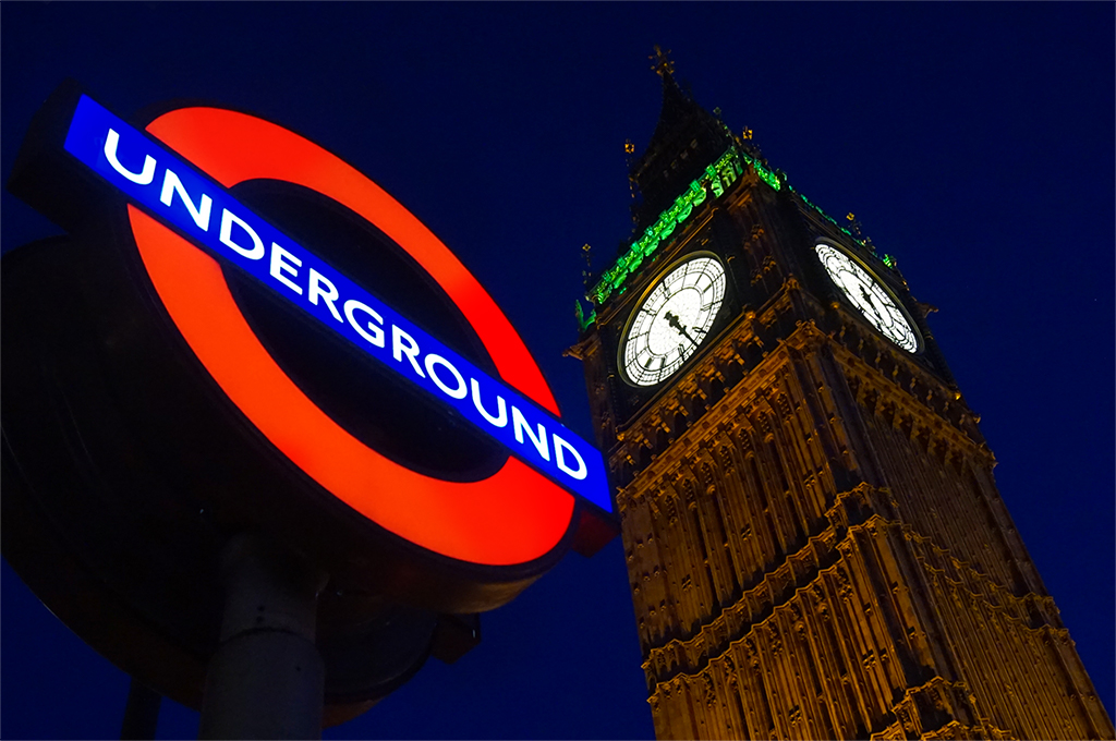 London Underground and Big Ben