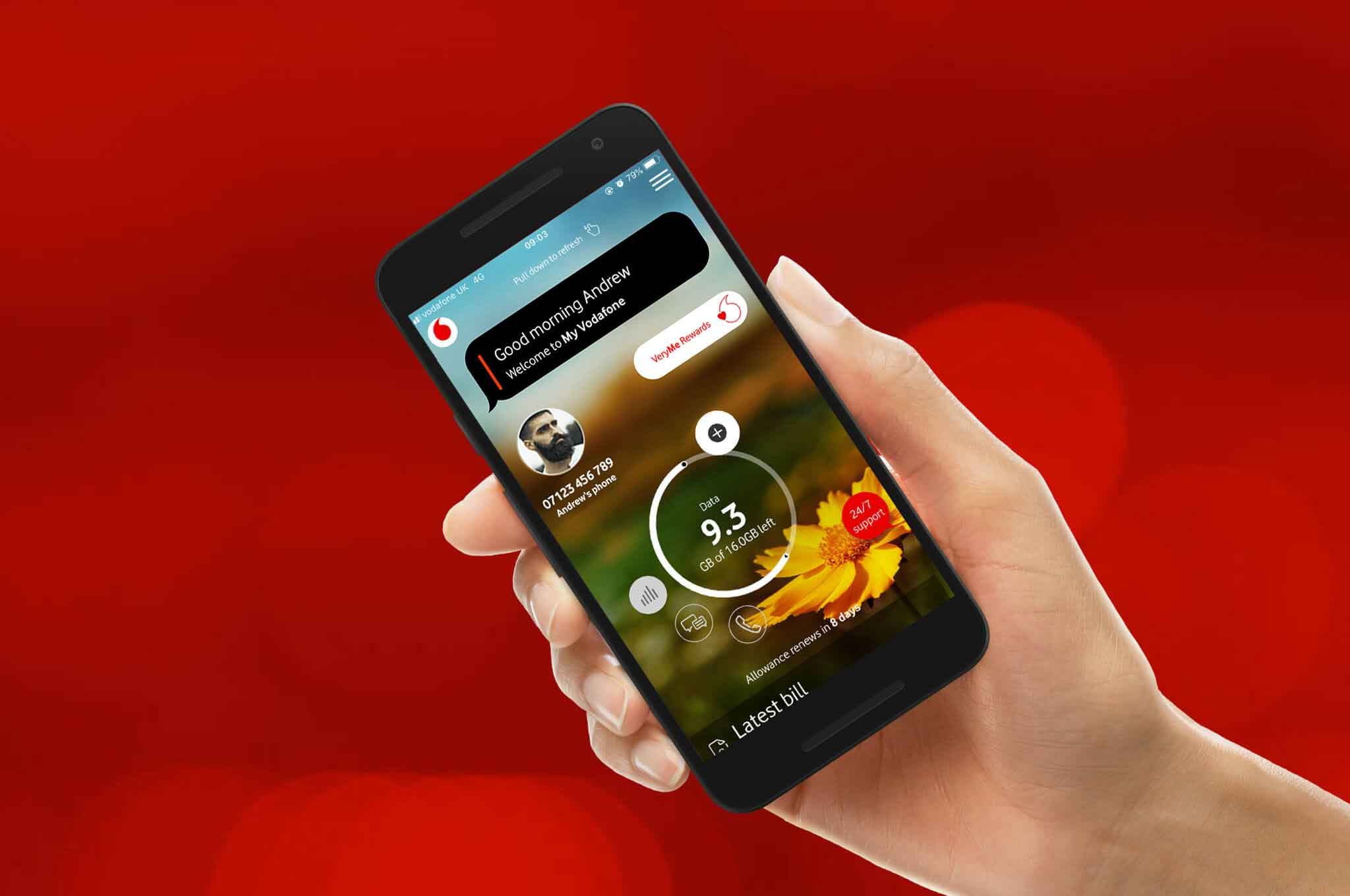 Getting started with Vodafone